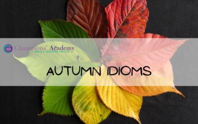 Autumn Idioms