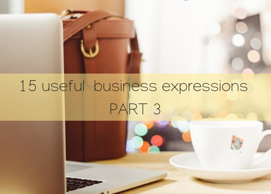 15 Useful Business Expressions – PART 3 – Real estate / Stock market